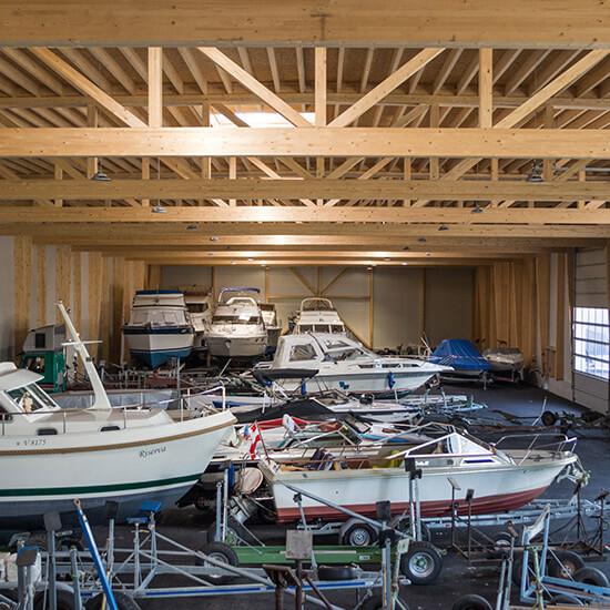 Winterlager Bilgeri Yachtwerft